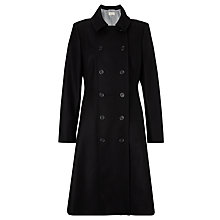 Buy Somerset by Alice Temperley Skirt Midi Coat, Black Online at johnlewis.com