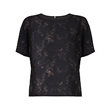 Buy Kin by John Lewis Herringbone Print Top, Multi Online at johnlewis.com