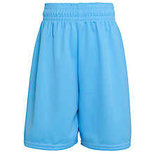 Buy St Francis Xavier College Boys' Football Shorts, Sky Blue Online at johnlewis.com