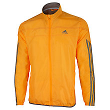 Buy Adidas Response Wind Jacket, Orange Online at johnlewis.com