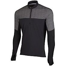 Buy Adidas Supernova Storm Long Sleeve T-Shirt, Black/Grey Online at johnlewis.com