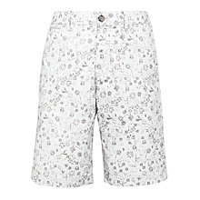 Buy Original Penguin Small Floral Print Shorts, Dawn Blue Online at johnlewis.com