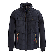Buy Pepe Jeans Chamonix Quilt and Knit Jacket, Dulwich Online at johnlewis.com