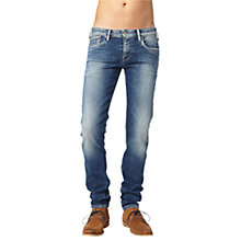 Buy Pepe Jeans Slim Fit Hatch Jeans, Tied Tint Online at johnlewis.com