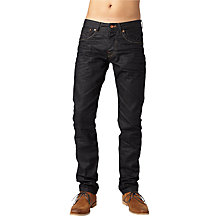 Buy Pepe Jeans Cash Slim Jeans, Slate Black Online at johnlewis.com