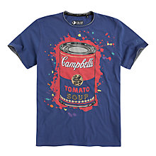 Buy Pepe Jeans Ellis Andy Warhol Soup Print T-Shirt Online at johnlewis.com
