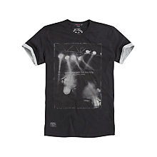 Buy Pepe Jeans Look Beyond The Sounds Print T-Shirt, Factory Online at johnlewis.com