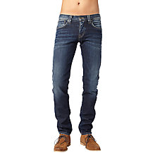 Buy Pepe Jeans Cane Slim Jeans, Dark Blue Online at johnlewis.com