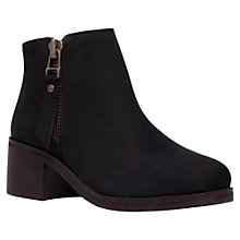 Buy Carvela Sebastion Mid Block Heeled Ankle Boots Online at johnlewis.com