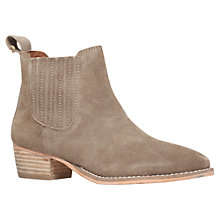 Buy Kurt Geiger Lang Suede Ankle Boots Online at johnlewis.com