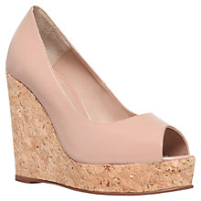 Buy Kurt Geiger Capella High Heel Leather Wedges Online at johnlewis.com
