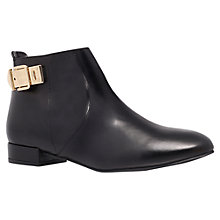 Buy KG by Kurt Geiger Smart Leather Ankle Boots Online at johnlewis.com