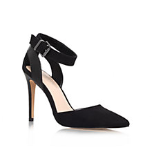 Buy Carvela Astute Pointed Occasion Shoes, Black Online at johnlewis.com