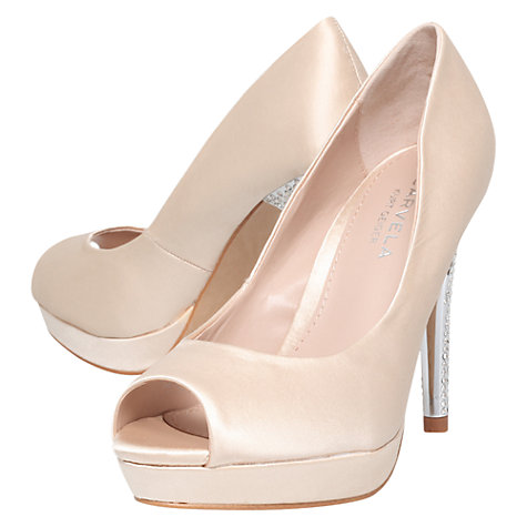 Buy Carvela Guest Sparkly High Heel Court Shoes Online at johnlewis.com