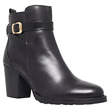 Buy Kurt Geiger Sofie Leather Ankle Boots Online at johnlewis.com