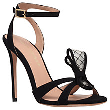 Buy Kurt Geiger Maia Leather High Heel Occasion Sandals Online at johnlewis.com