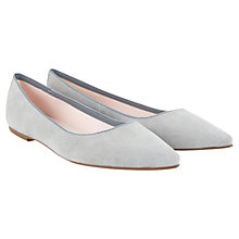 Buy Mint Velvet Pixie Leather Pump Shoes Online at johnlewis.com