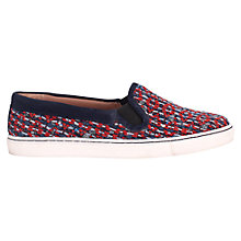 Buy Jigsaw Tribal Linton Plimsolls Online at johnlewis.com