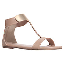 Buy Miss KG Dakota Metal Detail Sandals, Nude Online at johnlewis.com