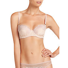 Buy Stella McCartney Ellie Leaping Contour  Balconette Bra, Ivory Heart Print Online at johnlewis.com