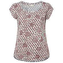 Buy White Stuff Harriet Tee, Red Plum Online at johnlewis.com