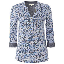 Buy White Stuff Amelia Shirt, Moonlight Online at johnlewis.com