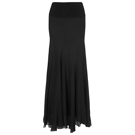 Buy Phase Eight Atlanta Maxi Skirt, Black Online at johnlewis.com