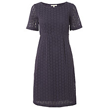 Buy White Stuff Bergamont Dress, Dark Periwinkle Online at johnlewis.com