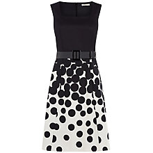 Buy Precis Petite Graduated Spot Dress, Multi/Dark Online at johnlewis.com