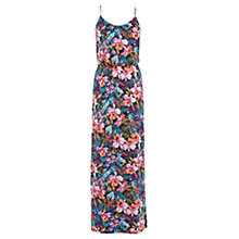 Buy Oasis Tropical Floral Maxi Dress, Multi Online at johnlewis.com