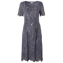 Buy White Stuff Flower Press Dress, Dark Periwinkle Online at johnlewis.com