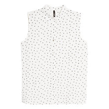 Buy Mango Printed Sleeveless Shirt Online at johnlewis.com