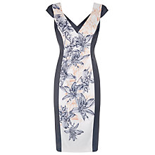 Buy Alexon Printed Panel Dress, Multi Online at johnlewis.com