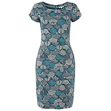 Buy White Stuff Deloris Shell Dress, Ocean Teal Online at johnlewis.com