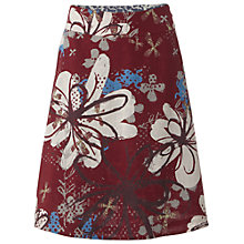 Buy White Stuff Collage Reversible Skirt, Red Plum Online at johnlewis.com