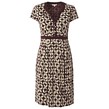 Buy White Stuff Justine Dress, Dark Red Plum Online at johnlewis.com