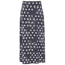 Buy White Stuff Scribble Flower Maxi Skirt, Moonlight Online at johnlewis.com