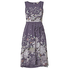 Buy White Stuff Calalily Dress, Cloudy Sky Online at johnlewis.com