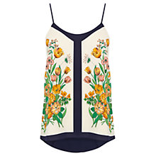 Buy Oasis Tulip Floral Scarf Camisole, Multi Online at johnlewis.com