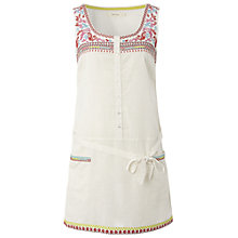 Buy White Stuff Mexicana Tunic, Ivory Online at johnlewis.com
