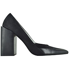 Buy Senso Tyson II Pointy Court Shoes, Black Online at johnlewis.com