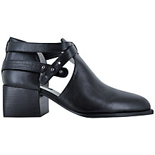 Buy Senso Macey I Strap Detail Ankle Boots, Black Online at johnlewis.com