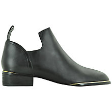 Buy Senso Courtney Cut Out Detail Ankle Boots, Black Online at johnlewis.com
