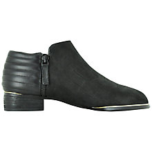 Buy Senso Chloe I Matted Croc Ankle Boots, Black Online at johnlewis.com