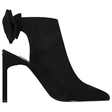Buy Senso Ume Bow Detail Pointed Shoes, Black Online at johnlewis.com