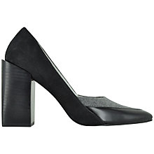 Buy Senso Tyson III Pointed Court Shoes, Black / Grey Online at johnlewis.com