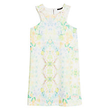 Buy Mango Digital Print Ponte Dress Online at johnlewis.com