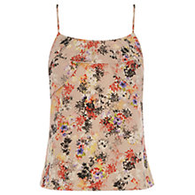 Buy Oasis Petal Frill Camisole Top, Multi Online at johnlewis.com