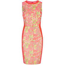 Buy Ted Baker Abenony Sleeveless Jacquard Dress, Light Pink Online at johnlewis.com