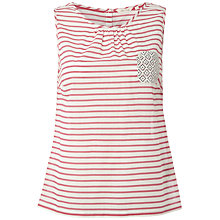 Buy White Stuff Calypso Stripe Vest Top, Calypso Online at johnlewis.com